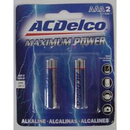 2Pk Aaa Alkaline Battery