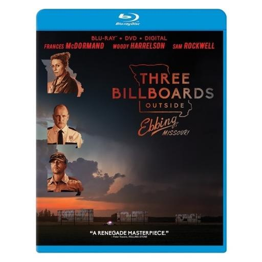 Three billboards outside ebbing missouri (blu-ray/dvd/digital hd) IYUFMEUCI0OTE9HU