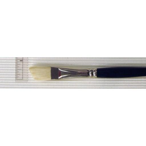 Princeton Artist Brush Co 5200Ab8 Ashley Better Bristle O/A Long Handle Brush Angle Bright 8