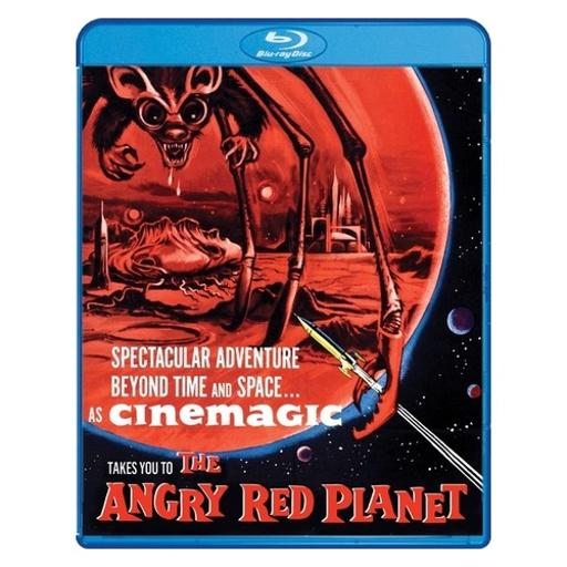 Angry red planet (blu ray) (ws/1.66:1) SXMBZEMHCPBGLCBC