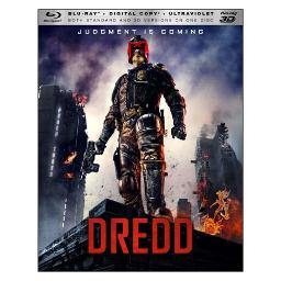 Dredd (blu ray/3d/digital copy) 3-d BR36345