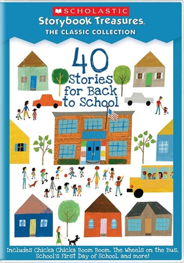 40 stories for back to school (dvd)