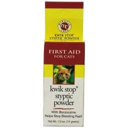 Miracle Corp 423694 Miracle Corp Kwik-Stop Styptic Powder For Cats 1.5 Ounces