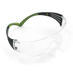 Peltor sf400-pc-8 peltor shooting glasses 400pc8 black/green frame/clear lens