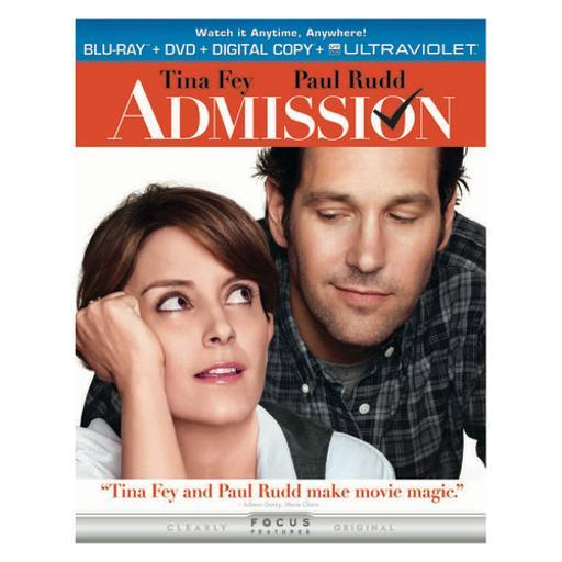 Admission blu ray/dvd combo pack w/digital copy/uv/2discs) UCKUEPMUDEZYPJXD