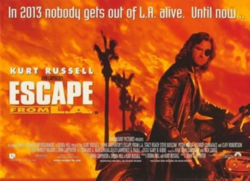 Escape From L.A. Movie Poster (17 x 11) 1W6O1TJYINABGFI9