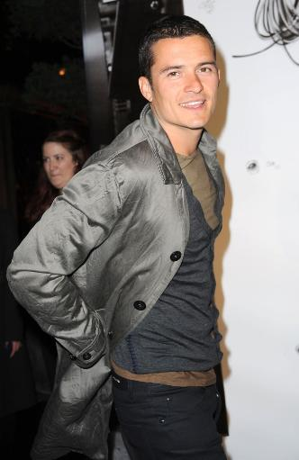 Orlando Bloom At Arrivals For Burberry Lights Up New York Skyline, The New York Palace Hotel, New York, Ny May 28, 2009. Photo By Kristin.