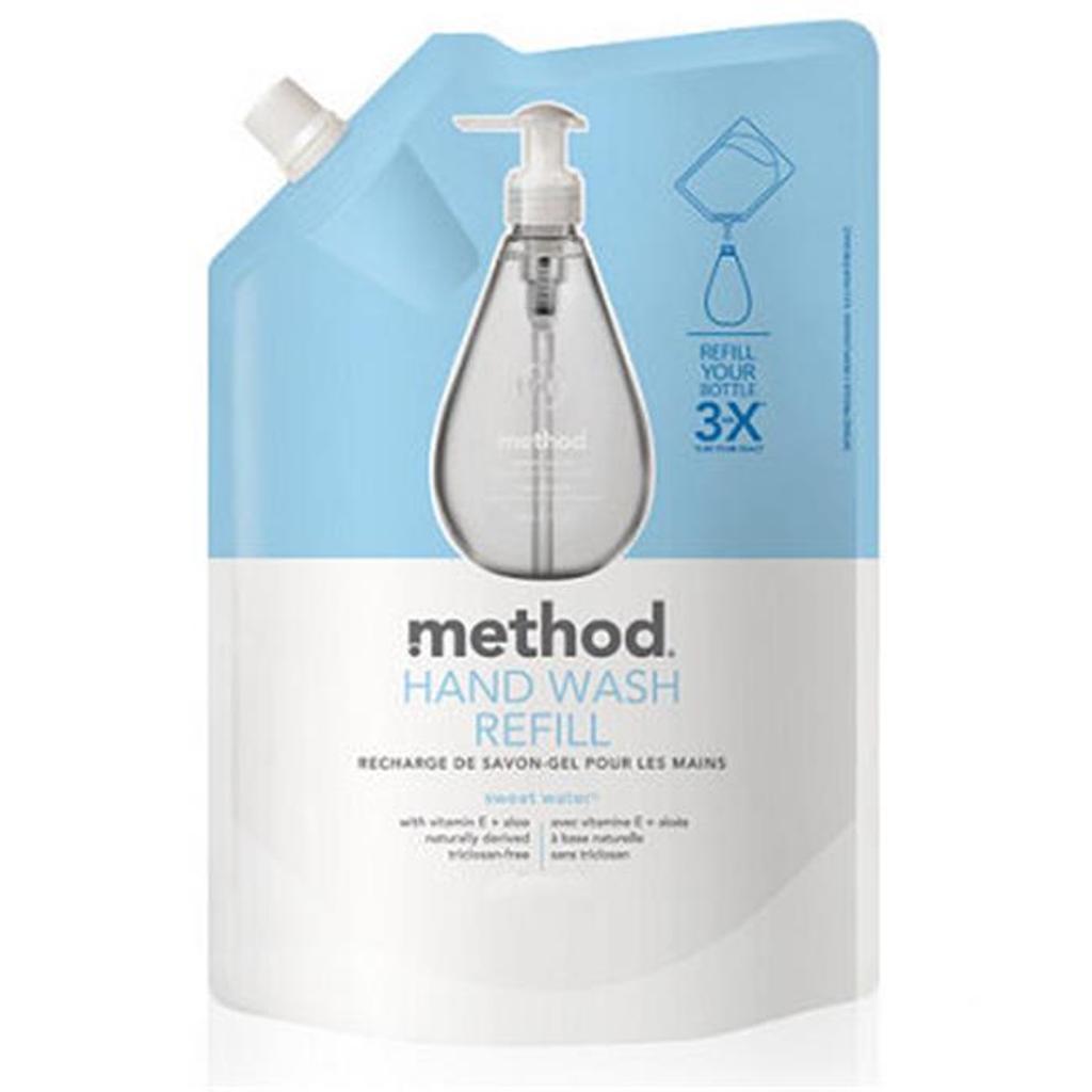 Method Foaming Hand Wash Refill, Sweet Water, 28 Ounce