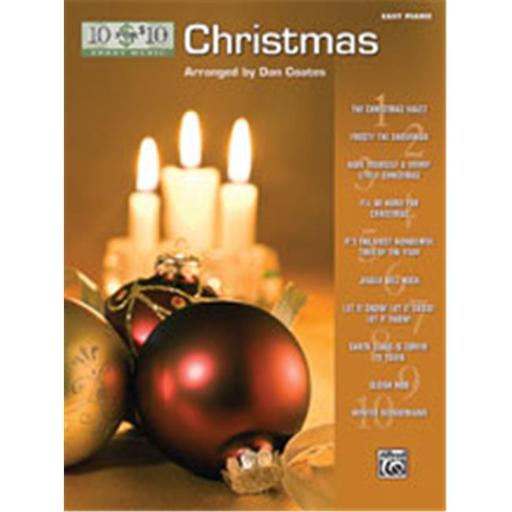 Alfred 00-33221 10 for 10 Sheet Music- Christmas - Music Book