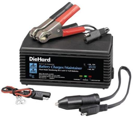 Die Hard Microprocessor Controlled Battery Charger/maintainer, 2 Amp