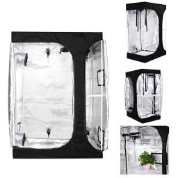 LAGarden 2in1 Hydroponics Indoor Grow Tent Growing Planting Room Propagation and Flower Sections