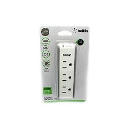 Belkin - power bst300bg 3out surge protectr usb swivel