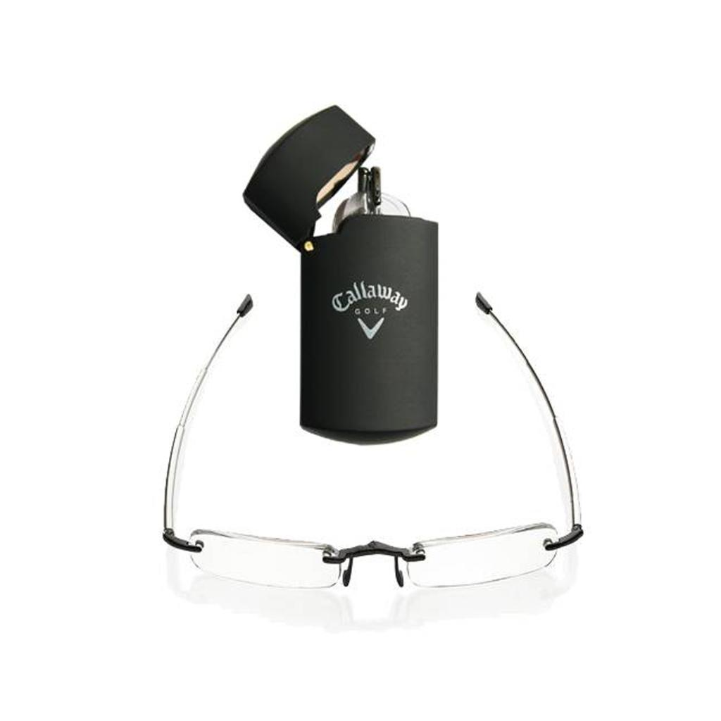 Callaway Compact Reader Glasses with Fliptop Case