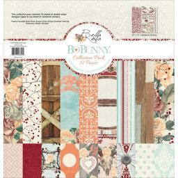 """BoBunny Collection Pack 12""""X12"""" Bella Rosa"""