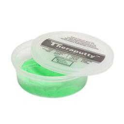 Fabrication Enterprises 10-2633 Theraputty Plus Antimicrobial Exercise Putty, Green - 6 oz
