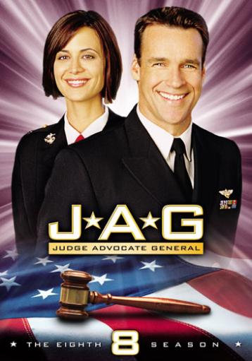 Jag-8th season complete (dvd/5discs)