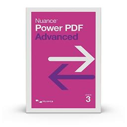 Nuance document imaging - retail av09a-g00-3.0 power pdf 3 advanced non-volume