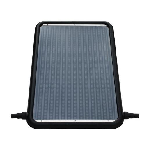Flowxtreme NS1002 21 in. Solar Flat-Panel Heater for AG Swimming Pools, Black