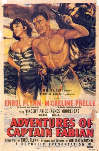 Adventures of Captain Fabian Movie Poster Print (27 x 40) 766098