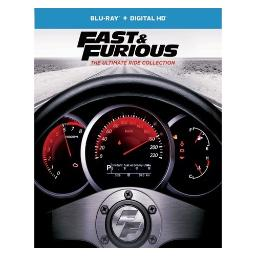 Fast & furious-ultimate ride collection (blu ray) (8discs) BR61184816