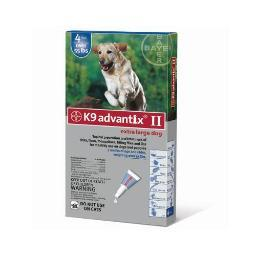 Advantix Advx-Blue-100-4 Advantix Flea And Tick Control For Dogs Over 55 Lbs 4 Month Supply