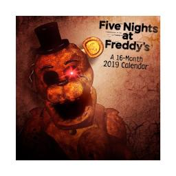 Five Nights at Freddy's 16-Month 2019 Mini Calendar Freddy Chica 5 Gift