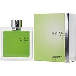 AURA by Jacomo EDT SPRAY 1.4 OZ (Package Of 4)