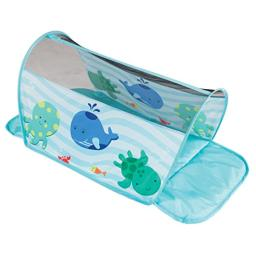 """Pacific Play Tents 95510 Infant Sea Buddies Padded Tummy Crawl Tunnel, 30"""""""