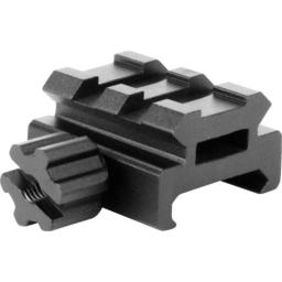AIM SPORTS Riser Mount/Low Profile, Small, Black