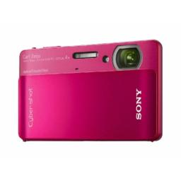 Sony Cyber-shot DSC-TX5 102MP CMOS Digital Camera with 4x Wide Angle Zoom with SteadyShot Image Stabilization and 30 Inch Touch Screen LCD (Red)