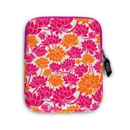 CR Gibson Iota Chic TabletReader Case with Secure Zip Closure & Interior Pocket - Ohm