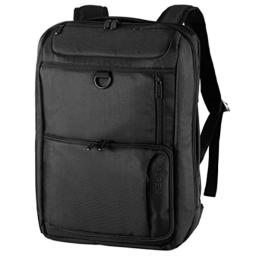 "Swiss Alpen - City Collection Slim Backpack - Water Resistant Durable 1680D Large Laptop Backpack for Travel, School & Business - Fits 15.6"" Laptop - Black Exclusive"
