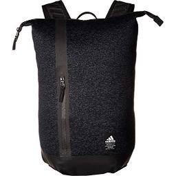 adidas Unisex Primeknit Static Backpack, Pixel Knit Night Grey/Black, ONE SIZE