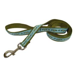 Hamilton SLF RO 6 FSGN Outdoorsman Collection Fish and Fly Pattern Nylon Lead with Swivel Snap, 5/8-Inch by 6-Feet