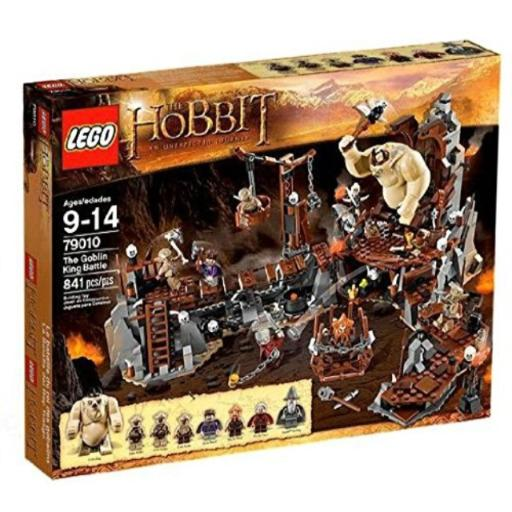 The Hobbit - The Goblin King Battle - 79010 Toys*Building Sets