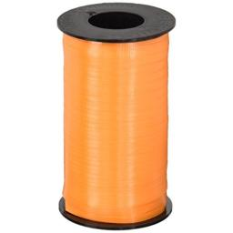 "Splendorette Crimped Curling Ribbon .1875""X500yd-Tropical Orange"
