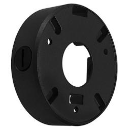 CMPLE CCTV Mounting Junction Box Will Fit Most Small Dome Cameras - Black