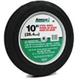 Arnold 490-323-001 10 In. Ribbed Tread Wheel 80 Lbs.
