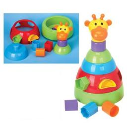 Jerry the Giraffe Shape Sorter and Stacker