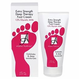 Alpha Extra Strength Deep Therapy Foot Cream 12% Glycolic AHA - 4oz