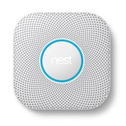 Nest Protect Wired Smoke & Carbon Monoxide Detector Alarm CO 2nd Gen S3005PWLUS