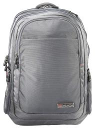 "ECBC Javelin 17"" Laptop Nylon Backpack with TSA Compliant Security Fast Pass - Gray"