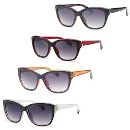 Thick Frame Retro Square Sunglasses (4 pack)