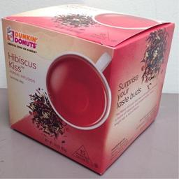 Dunkin Donuts Hibiscus Kiss Herbal Infusion