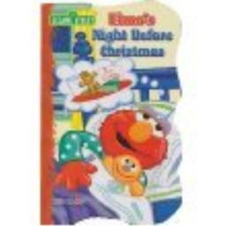 Elmo's Night Before Christmas - Shaped Board Book