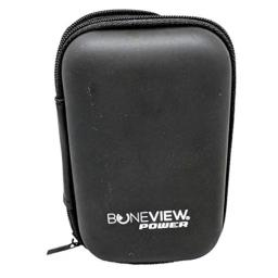 BoneView Protective Storage Case Pocket Size Weather Resistant Shell and Zipper to Safely Store Your Deer Hunting and Scouting Accessories (Black)