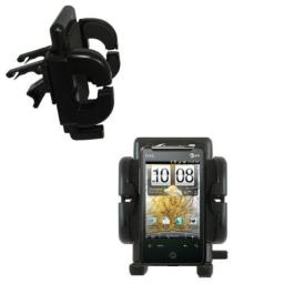 Innovative Vent Cradle Vehicle Mount designed for the HTC Aria - Adjustable Vent Clip Holder for Most Car Auto Vent Systems