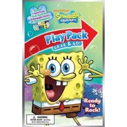 Bendon Publishing SpongeBob Squarepants Grab and Go! Play Pack