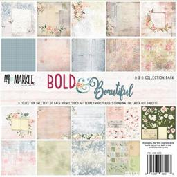 """49 and Market BB88213 Collection Pack 8""""X8""""-Bold & Beautiful"""
