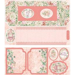 Crafter'S Companion 3D Double Concertina Cardmaking Kit-Beautiful Florals